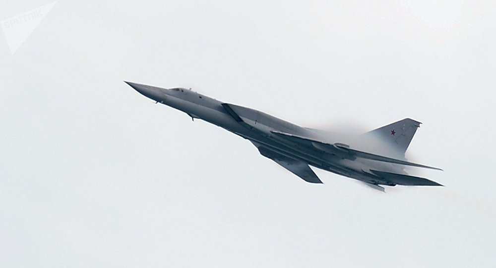 Un bombardier supersonique Tu-22M3