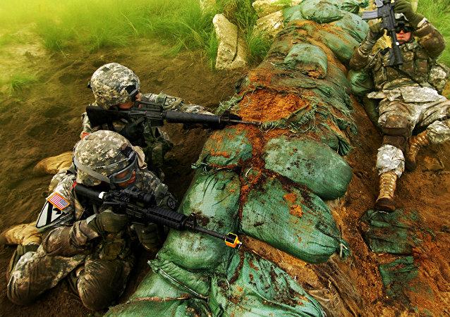 Des militaires de l'US Army