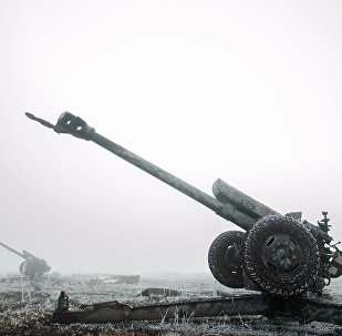 Un canon d'artillerie