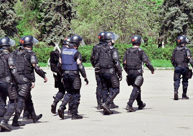Police à Odessa