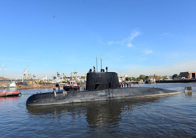 Le sous-marin argentin ARA San Juan