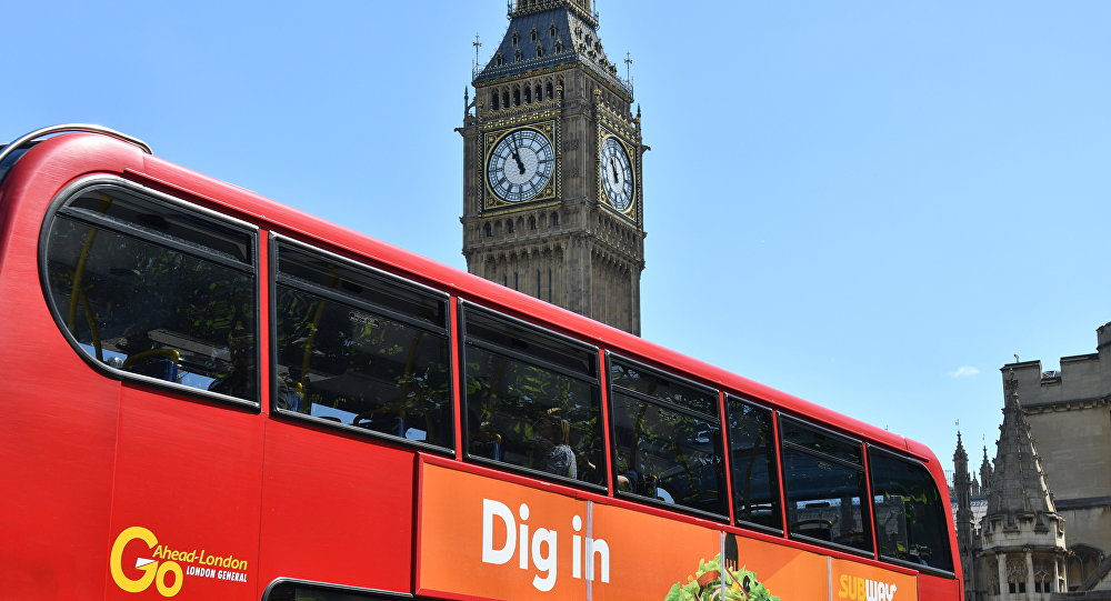 Un bus rouge de Londres