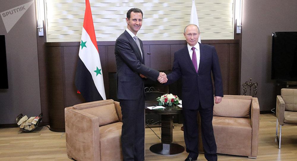 Rencontre Poutine-Assad