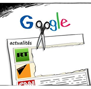 RT et Sputnik feraient l'objet d'un déclassement sur Google News