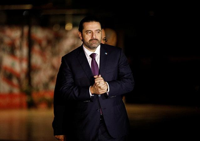 Saad Hariri, premlier ministre libanais