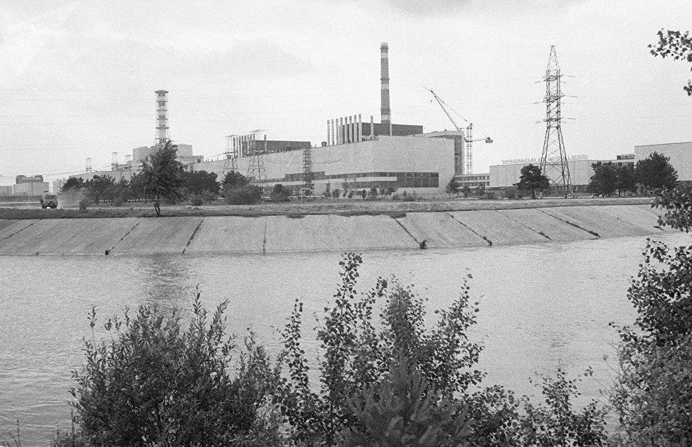 Centrale nucléaire de Tchernobyl (1984)