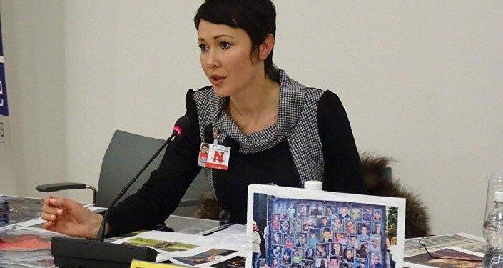 Anna Tuv témoigne au nom des enfants péris dans le cours du conflit ukrainien