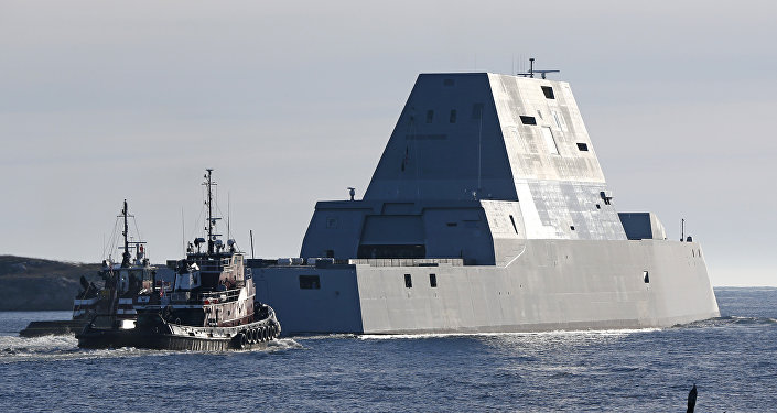 Le premier Zumwalt destroyer
