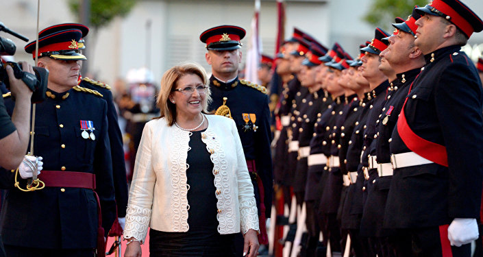 Marie-Louise Coleiro Preca, Présidente de Malte