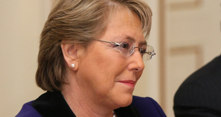 Michelle Bachelet, Présidente de la République du Chili