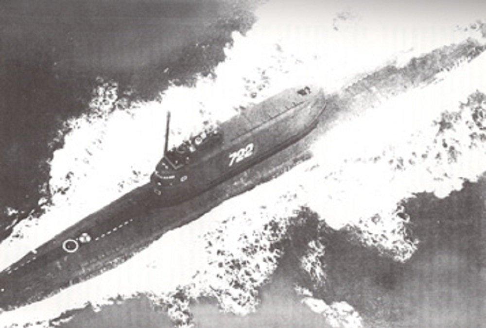 le sous-marin disel-électrique soviétique  K-129