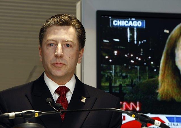 l'émissaire US pour l'Ukraine Kurt Volker