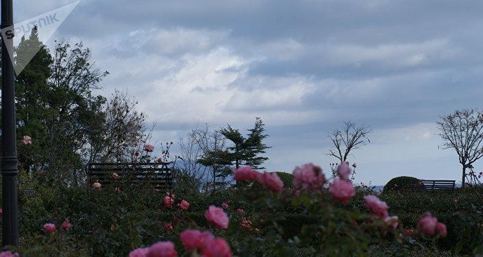 Un paysage de la Crimée
