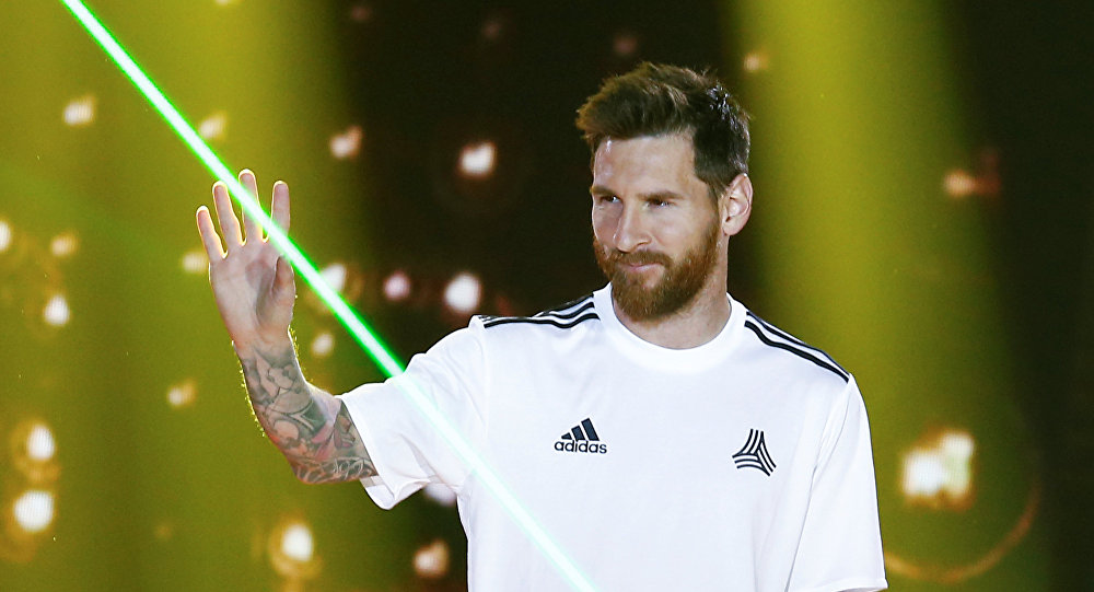 Lionel Messi, footballeur argentin