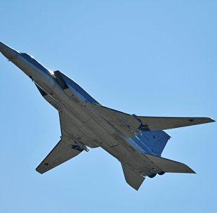 Un bombardier à long rayon d'action Tu-22M3 (image d'archives)