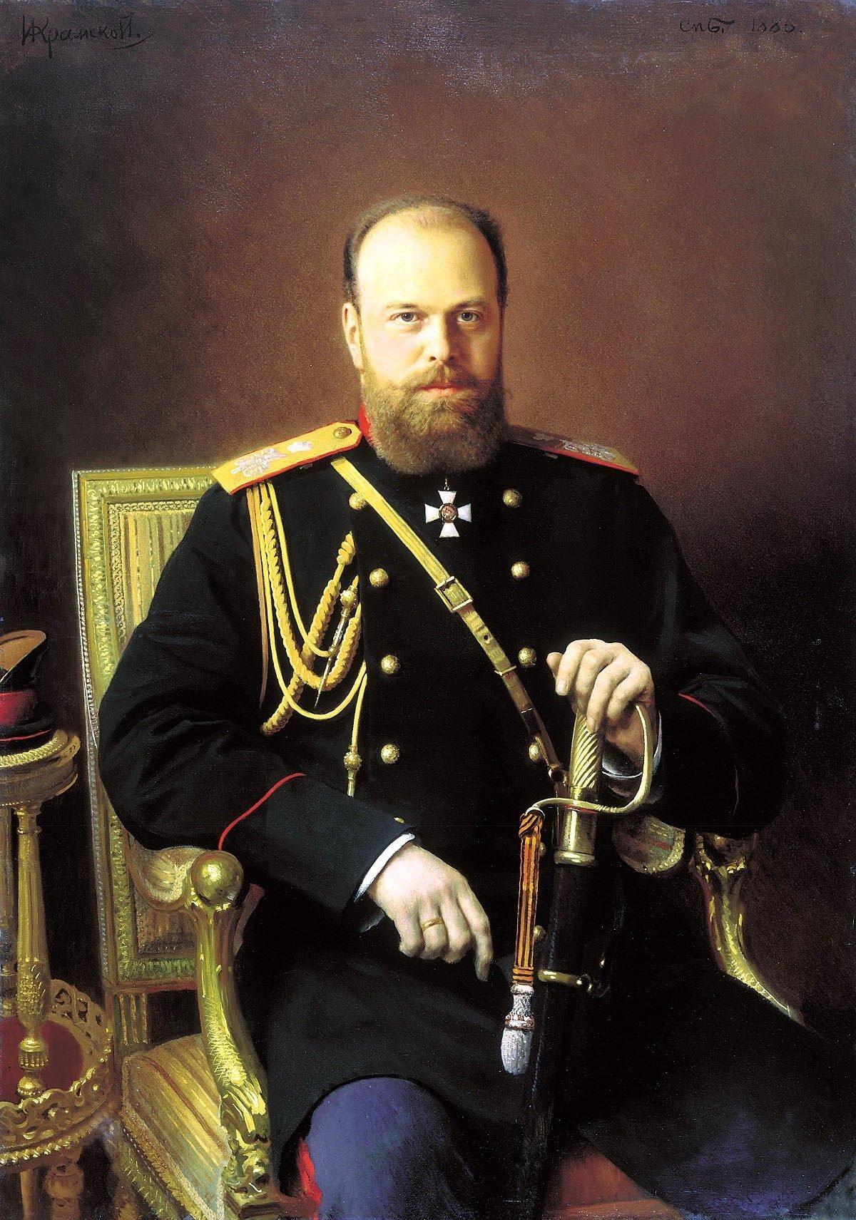 Empereur russe Alexandre III