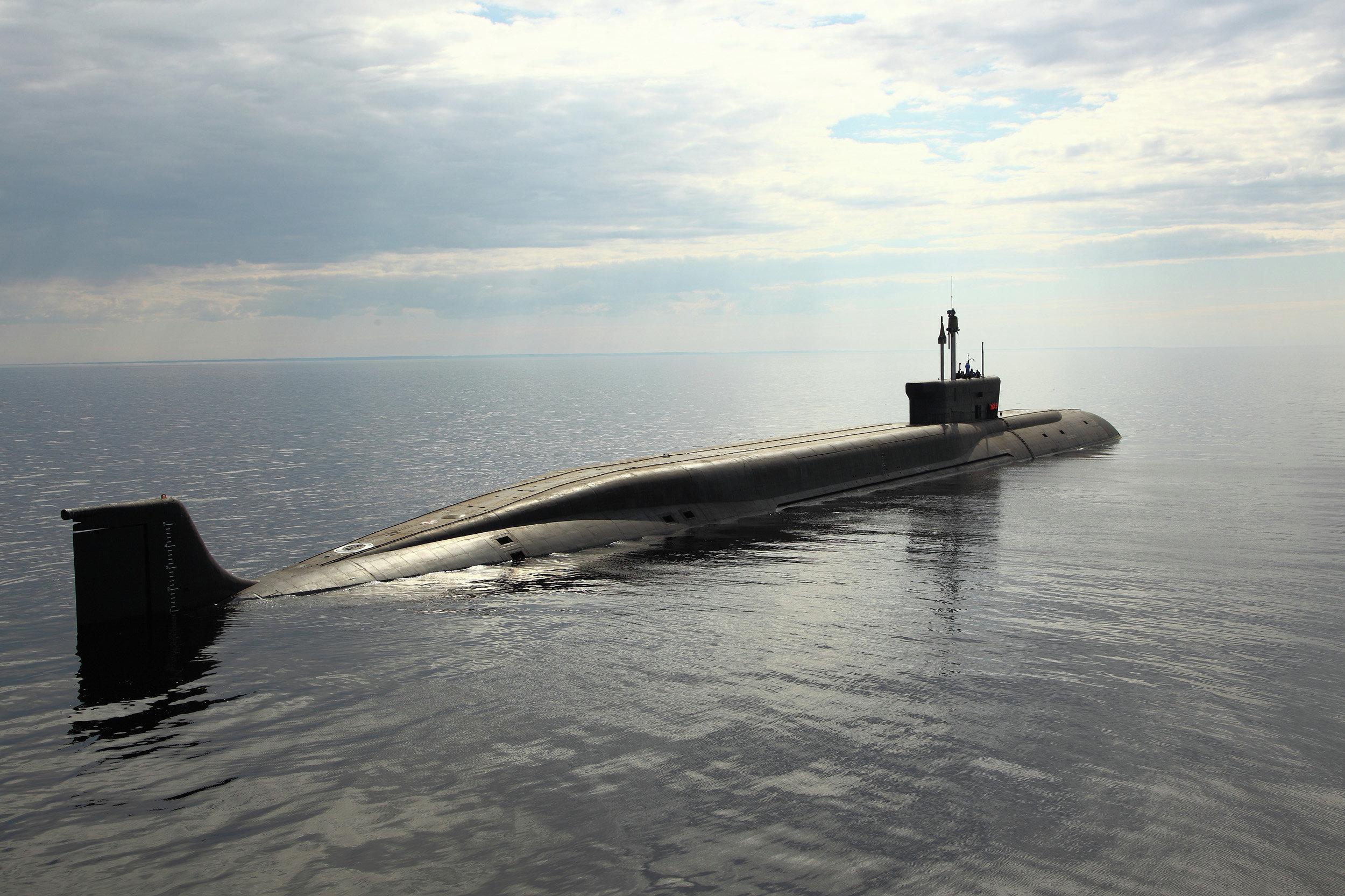 Sous-marin nucléaire russe Vladimir Monomakh