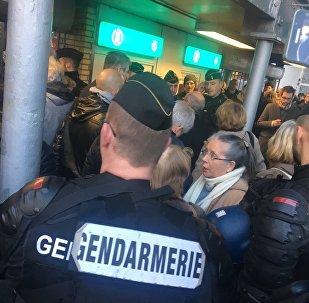 Manifestation Défendons l'Europe interdite à Paris (25 novembre 2017)