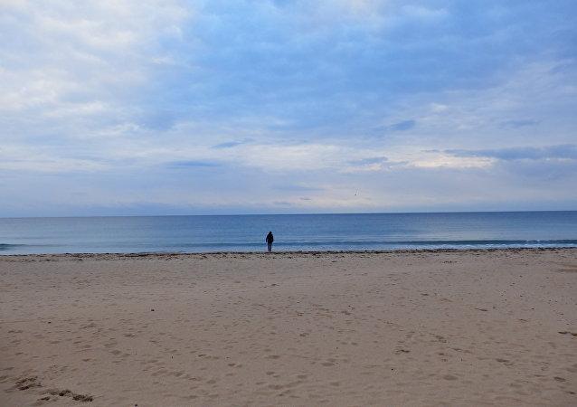 Une plage (photo d'illustration)