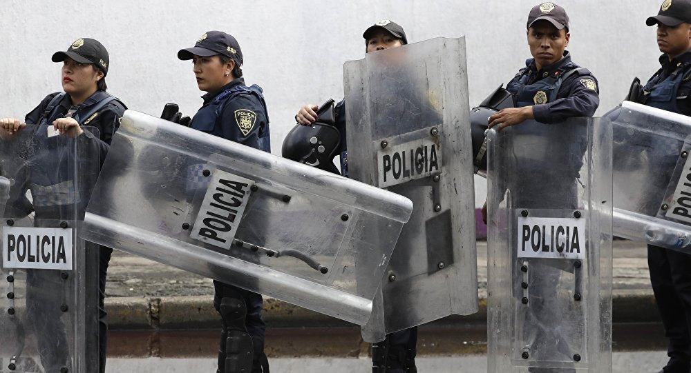 Policiers mexicains