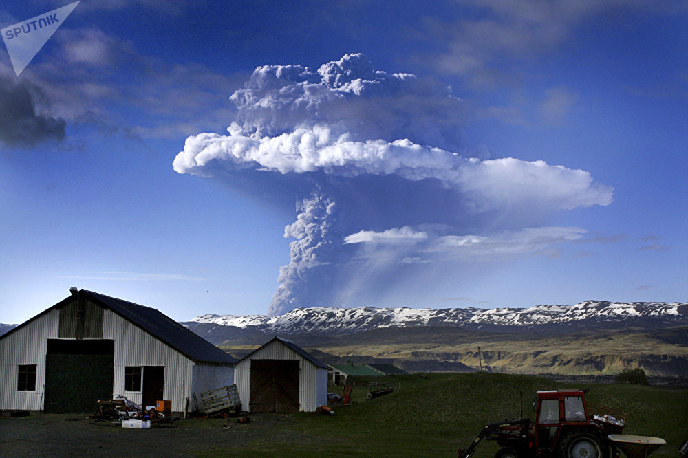 Le volcan islandais Grimsvötn