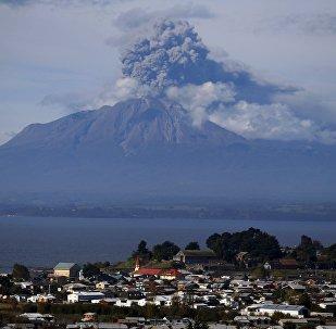 Le volcan Calbuco, au Chili