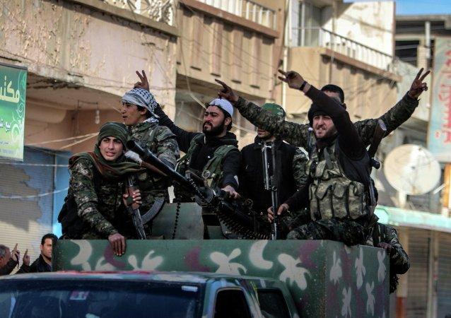 Forces d'autodéfense kurdes en Syrie (YPG)