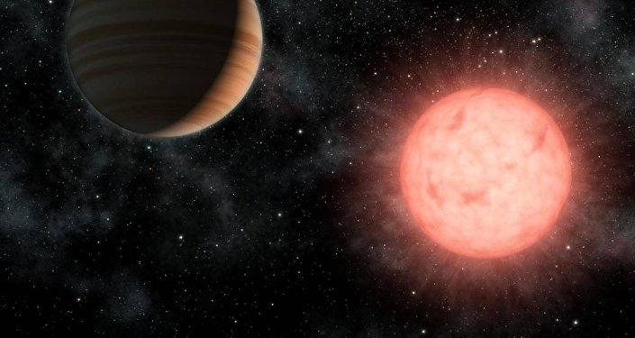 une nouvelle planète (image d'illustartion)