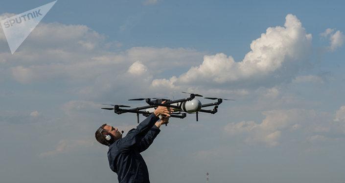 Un drone lancé dans la région de Moscou