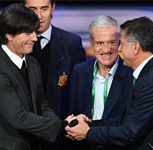 Joachim Loew et Didier Deschamps