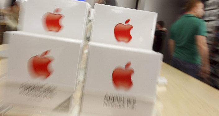 Dans un Apple store