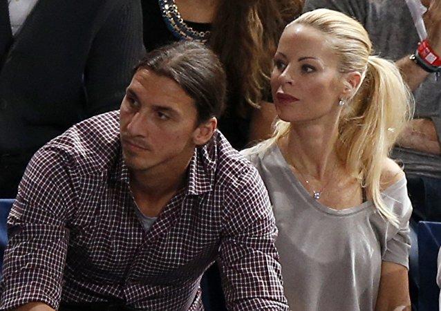 Helena Seger et Zlatan Ibrahimovic