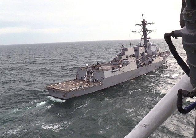 Entraînement conjoint des marins ukrainiens et américains