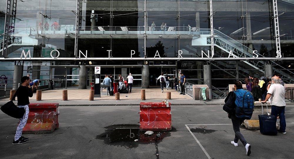 La gare Paris-Montparnasse