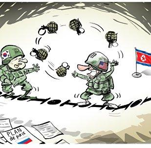 Début des exercices aériens conjoints américano-sud-coréens