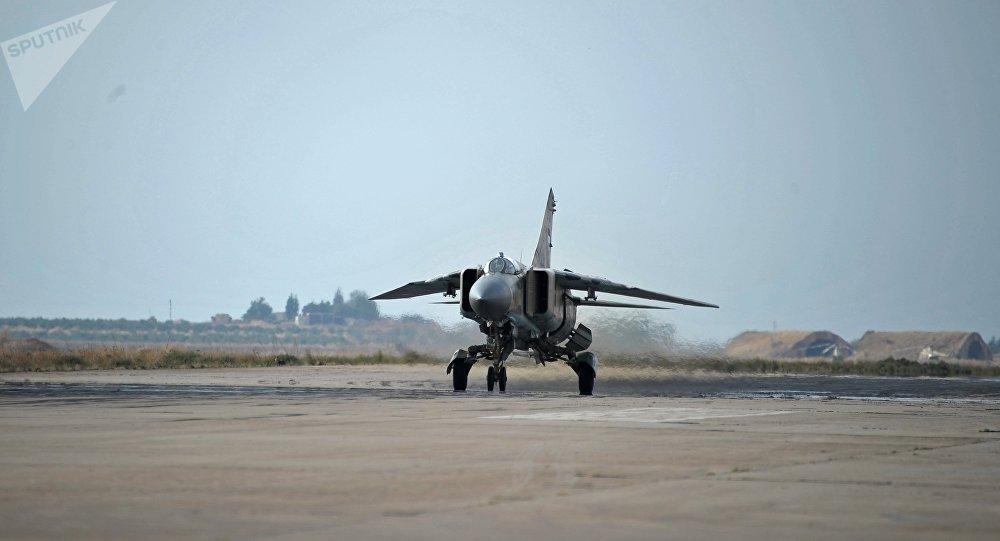 Un MiG-23 syrien