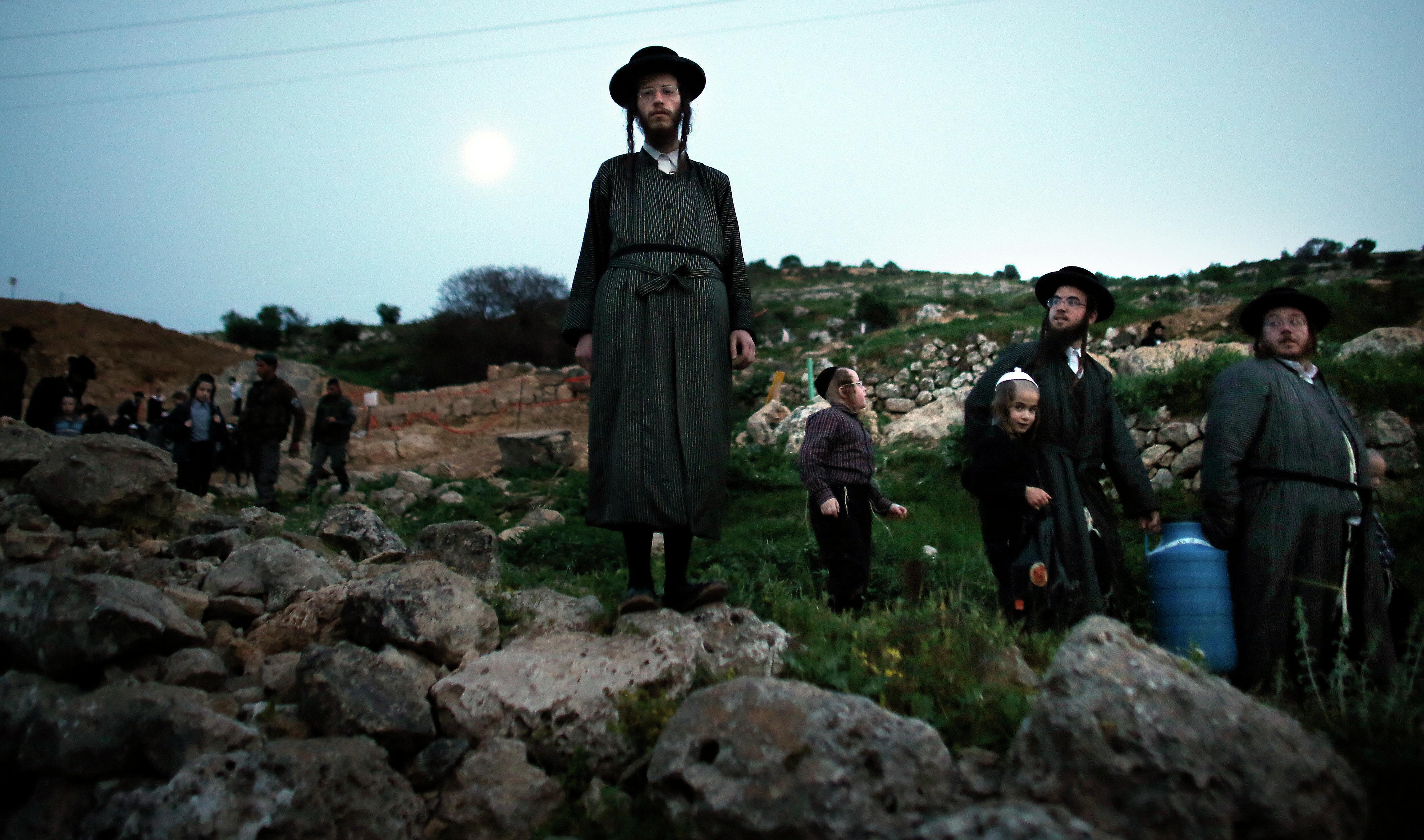 Des Juifs en terre d'Israël