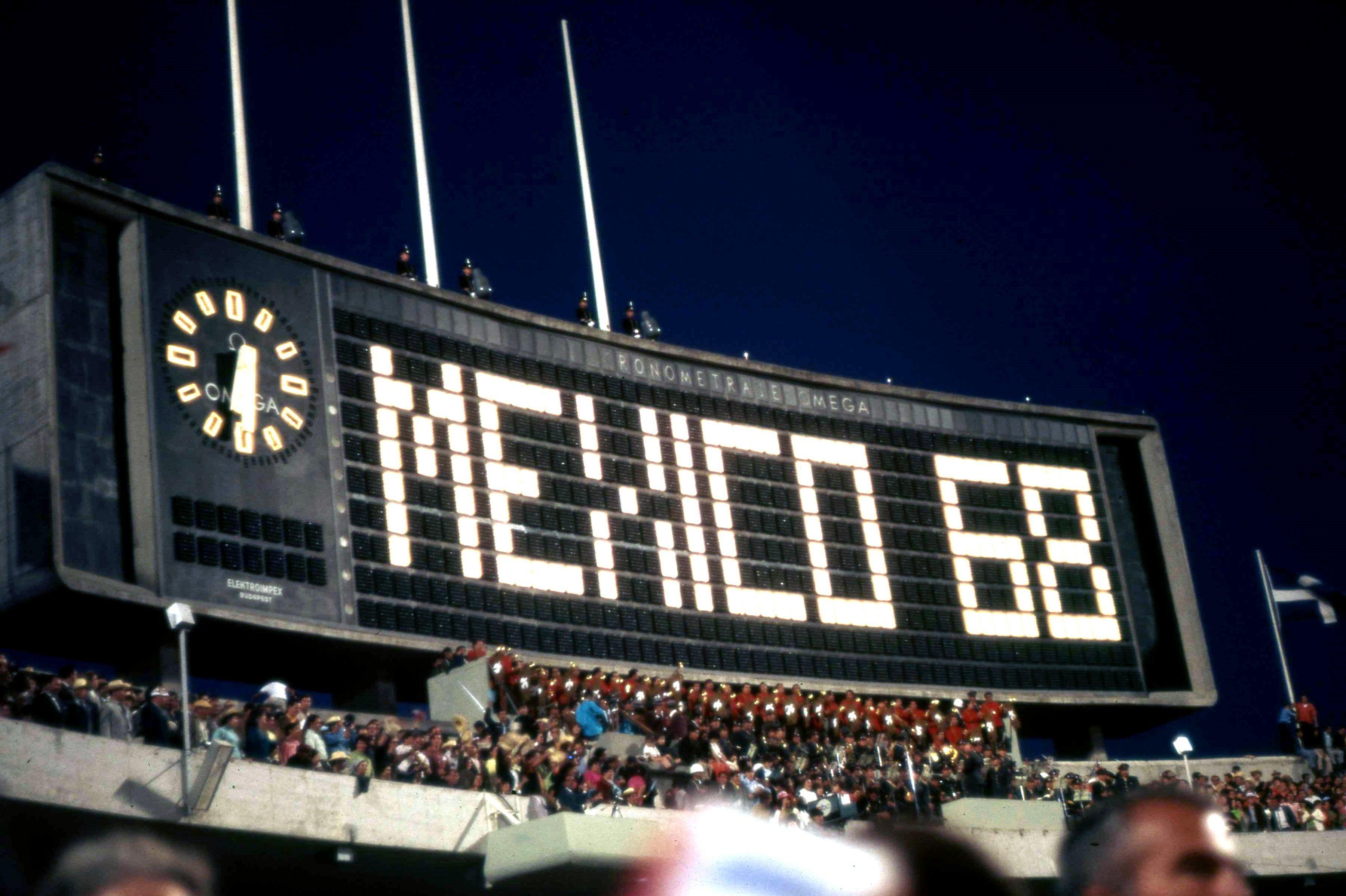 Cérémonie d'ouverture des JO 1968 de Mexico