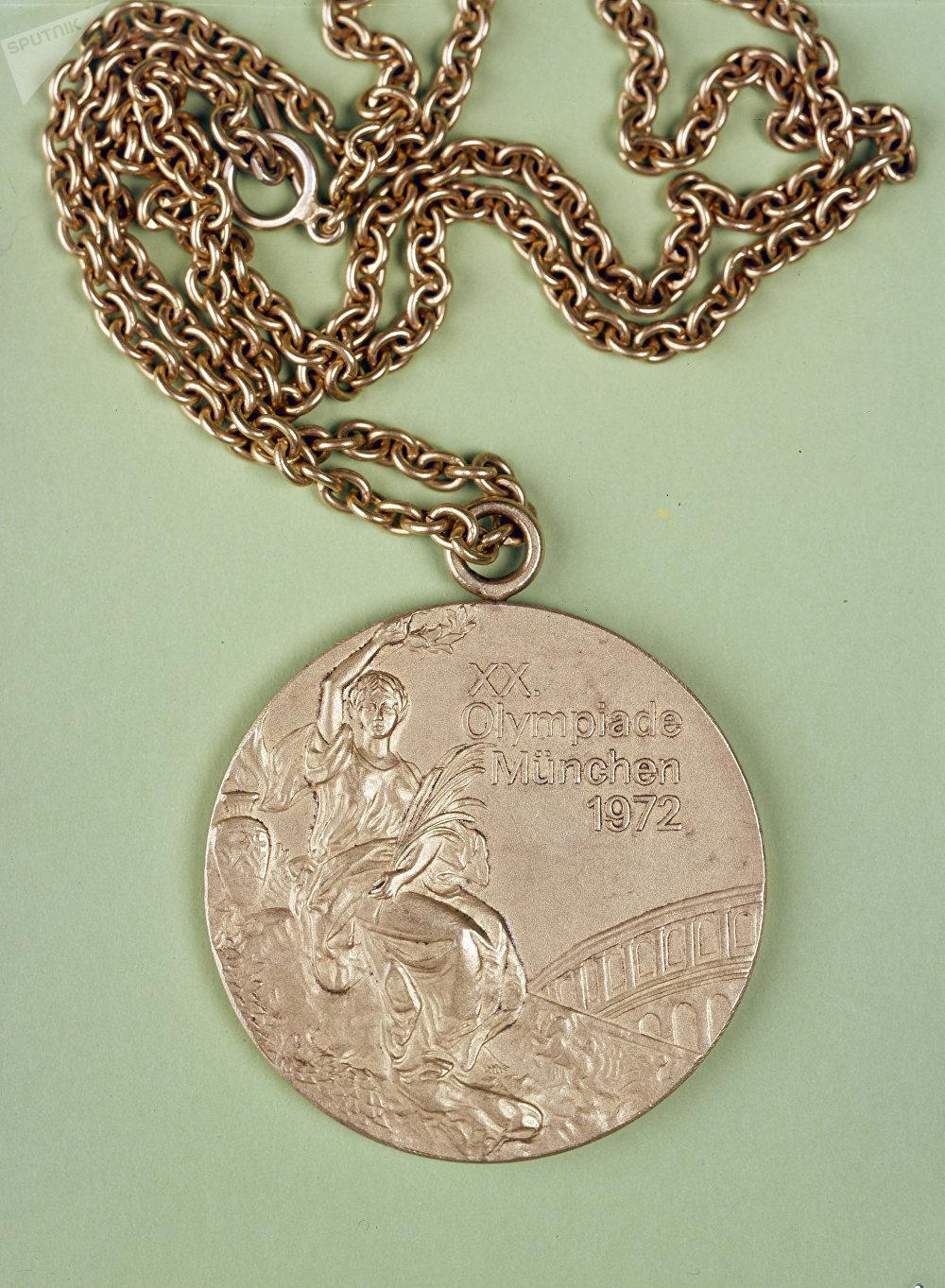 Une médaille des JO 1972 de Munich