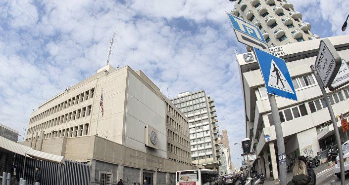 Ambassade israélienne à Tel-Aviv