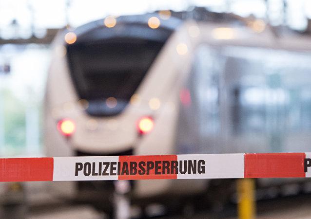 Un train en Allemagne