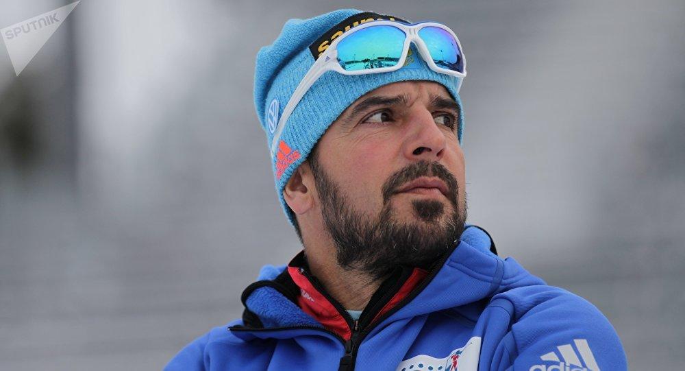 Ricco Gross, entraîneur de la sélection russe de biathlon