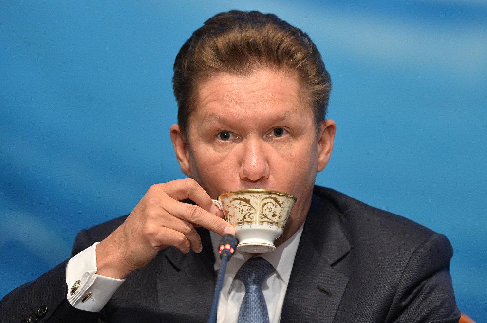 Alexei Miller, directeur général de Gazprom