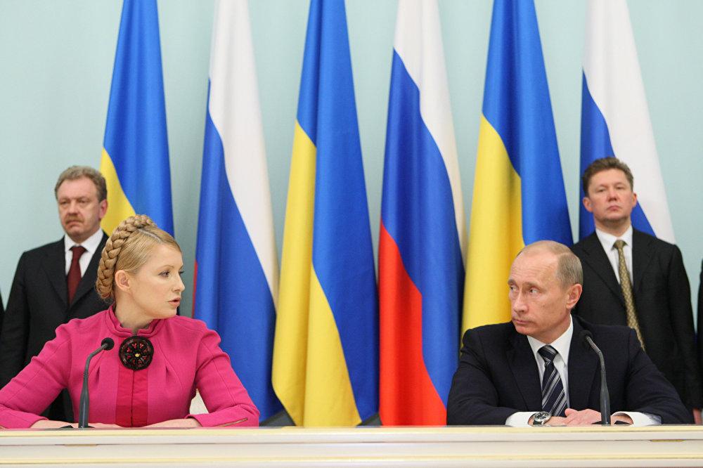 Gazprom et Naftogaz ont signé un accord sur le transit du gaz, le 19 janvier 2009