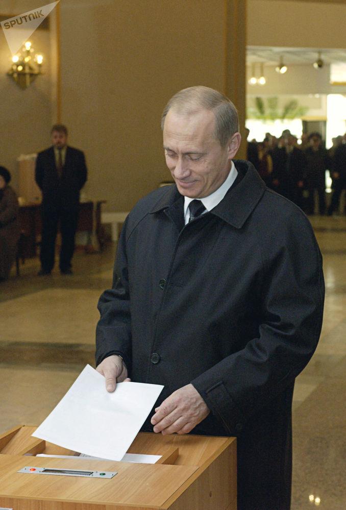 Les trois mandats présidentiels de Vladimir Poutine
