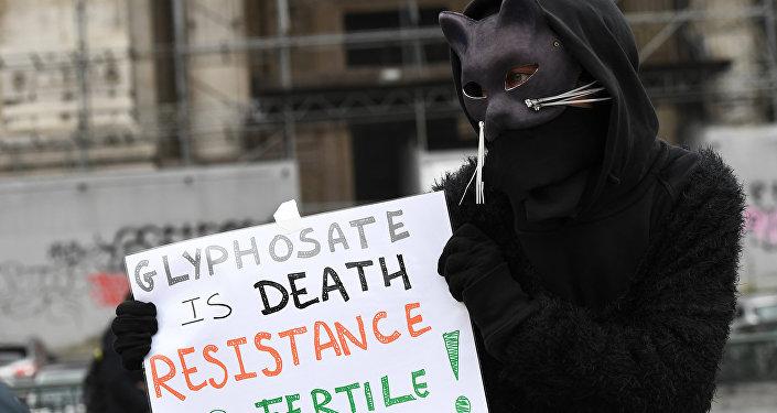 manifestation contre glyphosate