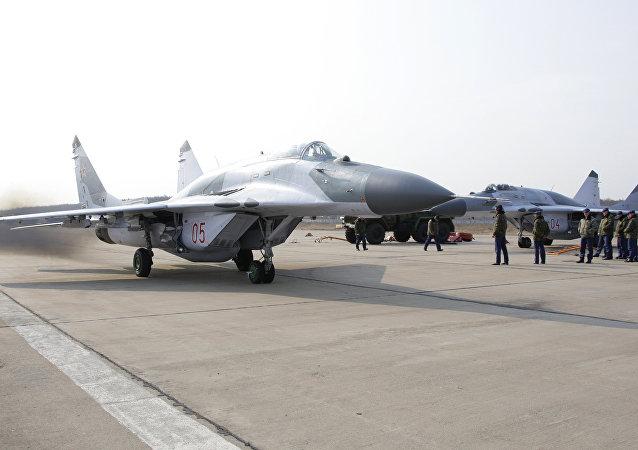 Chasseur russe MiG-29SMT