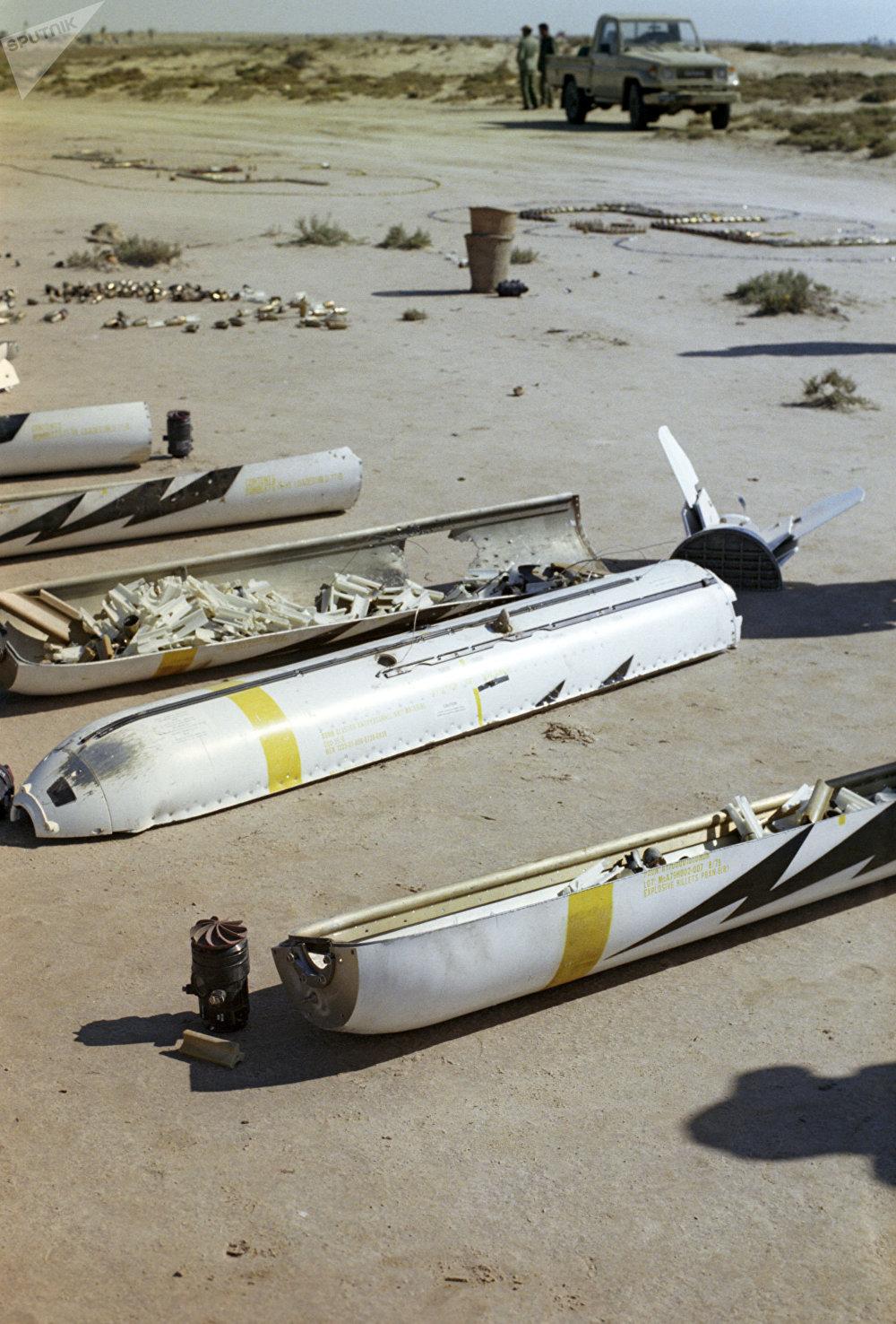 Des bombes à sous-munitions américaines au Liban