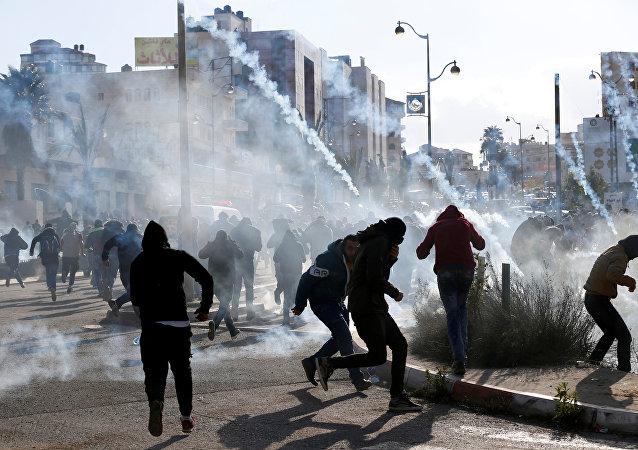 Des accrochages en Cisjordanie, suite à la déclaration de Donald Trump sur le statut de Jérusalem