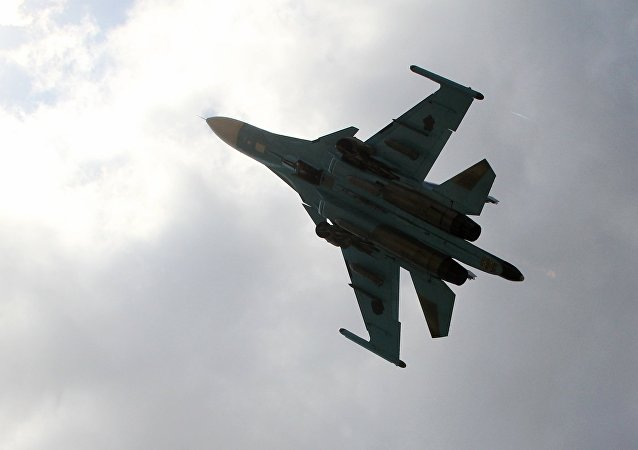 Chasseur-bombardier russe Su-34
